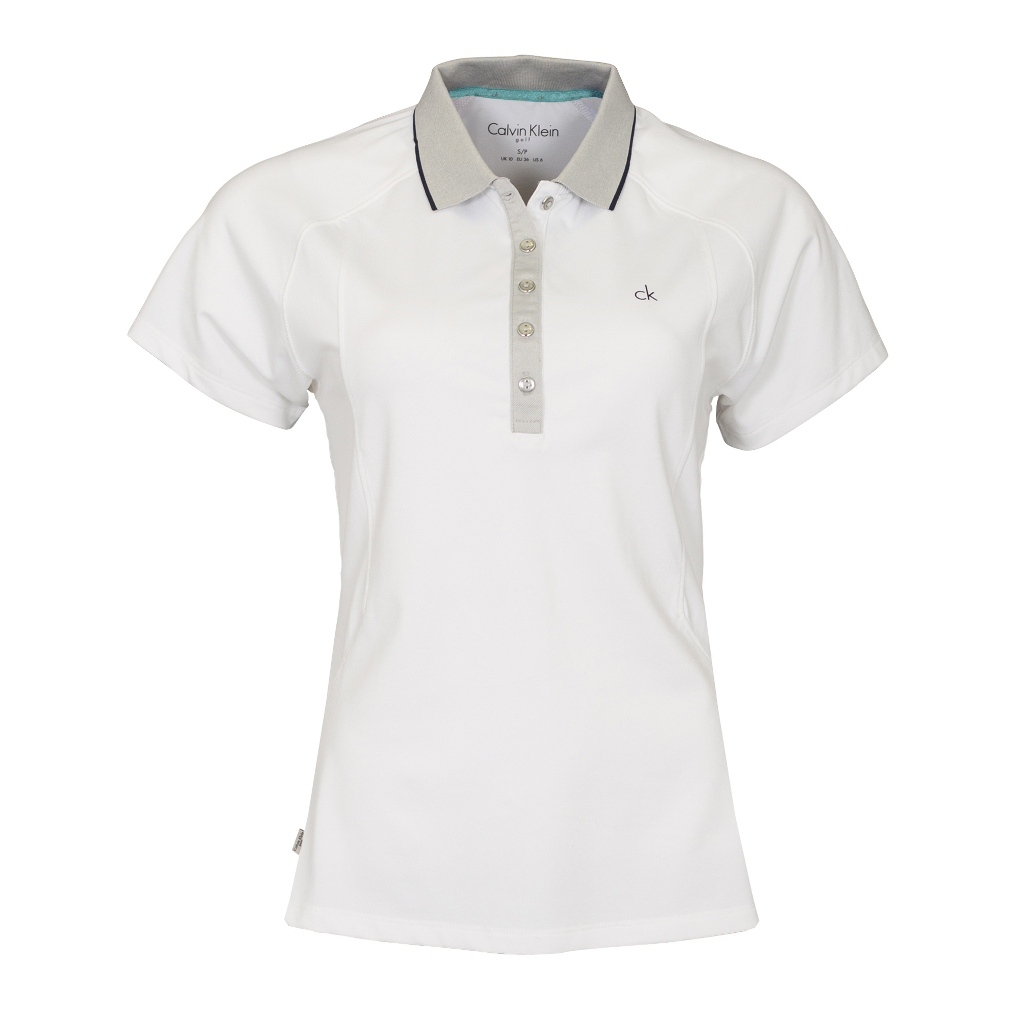 NEW-Calvin-Klein-Ladies-Polo-Shirt-CK-Short-Sleeve-Sport-Top-Golf-64-OFF-RRP